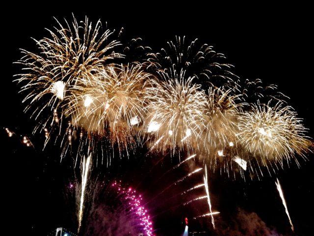 スターアイランド2019の花火